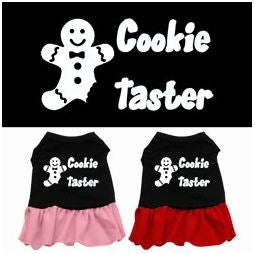 Cookie Taster Screen Print Dress in Two Colors