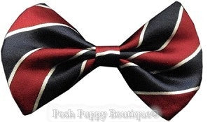 Dog Bowtie-Classic Stripes