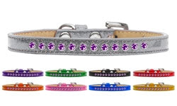 Purple Crystal Puppy Ice Cream Collar - Many Colors