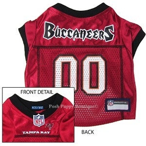 NFL Tampa Bay Buccaneers Dog Jersey