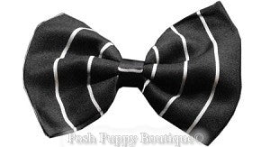 Dog Bowtie-Pinstripes