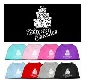 Wedding Crasher Screen Print Shirt- Many Colors