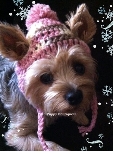 Couture Knit Hat- Neapolitan