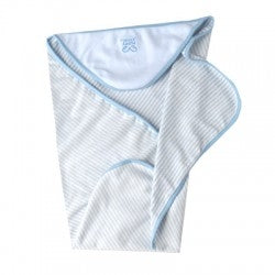 PuppyAngel Beach Hooded Towel in Blue