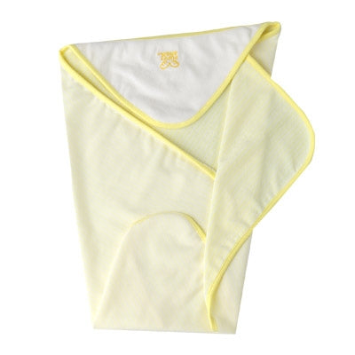 PuppyAngel Beach Hooded Towel in Yellow