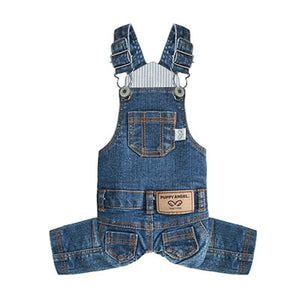 Puppy Angel Geolgine Daily Denim Overall Indigo - Blue