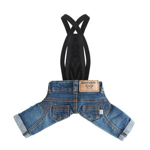 PuppyAngel  Geolgine Denim Pants Indigo - Blue
