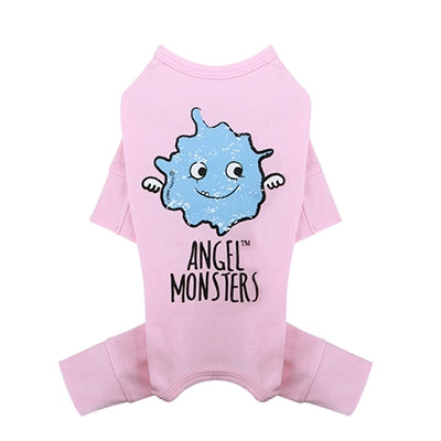 Puppy Angel Angel Monsters Overall - Pink