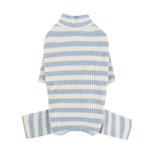 Corduroy Stripes Overall - Blue