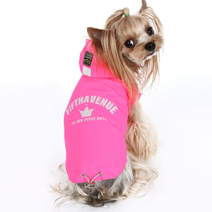 Puppy Angel Multi Protect Vest Raincoat - Pink