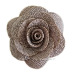 Hannah Collar Flower Slider- Mocha