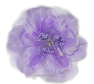 Victoria Collar Flower Slider - Purple