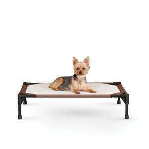 Self-Warming Pet Cot Brown