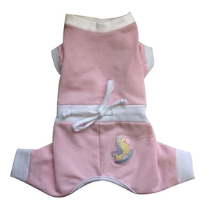 Baby Snuggle Suit in Pink