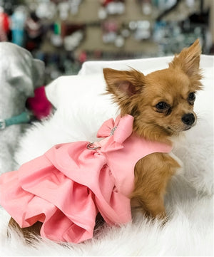 Susan Lanci Madison Dress - Puppy Pink