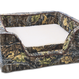 Luxury Square Dog Bed With Memory Foam - Untamed Collection - Posh Puppy Boutique