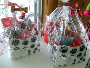 Welcome Home - New Pet Gift Basket Dog Treats
