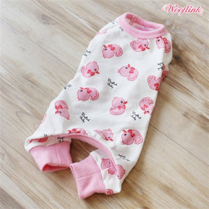 Wooflink Ducky Ducky Pajama Outfit - Pink