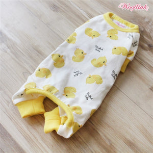Wooflink Ducky Ducky Pajama Outfit - Yellow