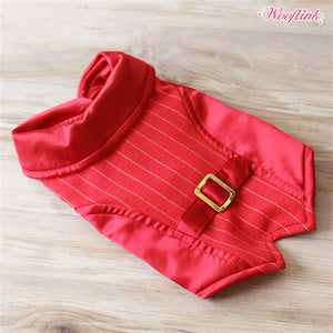 Wooflink Holiday Season Vest - Red