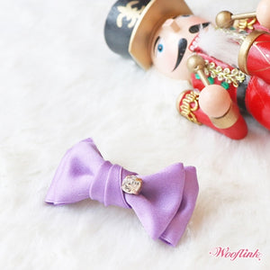 Wooflink Sweet on You Hairbow - Purple