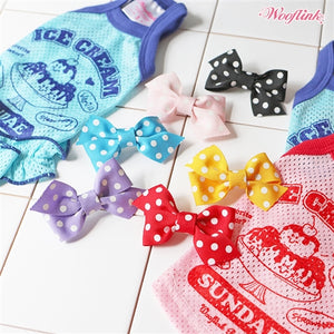 Wooflink Polka Polka Hairbow in Many Colors