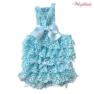 Wooflink SUGARLICIOUS Dress- Blue