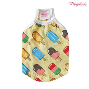 Wooflink Popsicles Shirt - Yellow