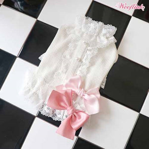 Wooflink Romantic Blouse - White