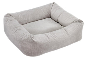 Silver Treats Microvelvet Dutchie Bed