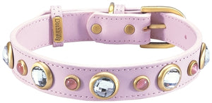 Diamond Collar- Light Pink