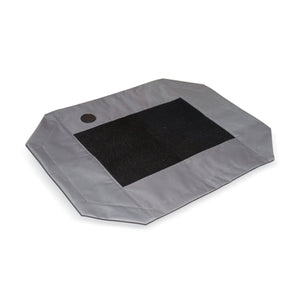 Gray Pet Cot Replacement Cover