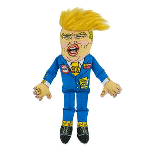 Donald Trump Dog Toy - 12""