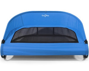 Trailblazer Blue Cool-Air Cot Raised Pet Bed - Blue