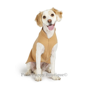 Camel Eco-friendly Dog Cozy Fleece Coat