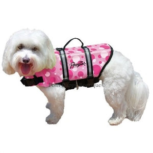 Doggy Life Jacket- Pink Polka Dot
