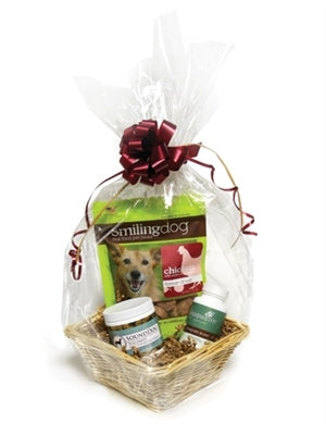 Baby It's Cold Outside Christmas Basket