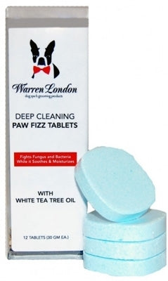 Deep Cleaning Paw Fizz Tablets - 12 Tablets