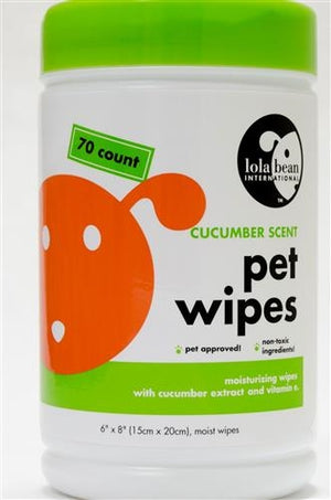 Moisturizing Pet Wipes- Fresh Scent with Aloe & Vitamin E