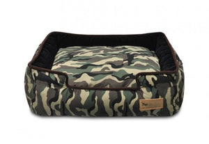 Camouflage Lounge Bed in Green Camouflage