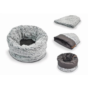 Snuggle Bed in Husky Light Gray