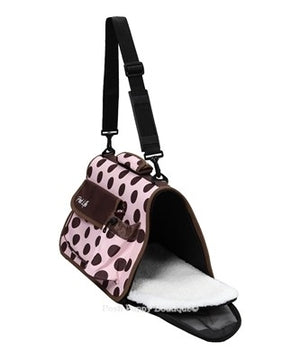 Travel Collapsible Airline Approved Carrier- Polka Dots