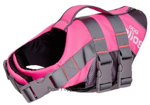 Splash-Explore Reflective Adjustable Dog Life Jacket - Pink