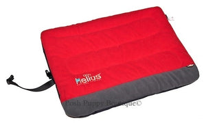 Red Helios Combat-Terrain Outdoor Cordura-Nyco Travel Folding Dog Bed