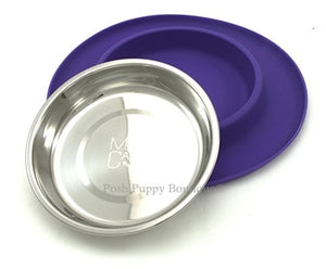 Messy Mutts - Single Cat Bowl Silicone Feeder- Four Colors