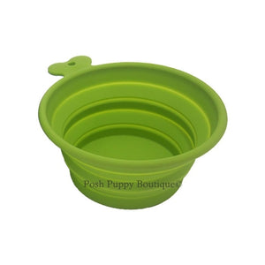 Collapsible Bowl- Green