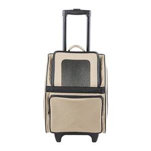 RIO Classic - Khaki Rolling Carrier On Wheels
