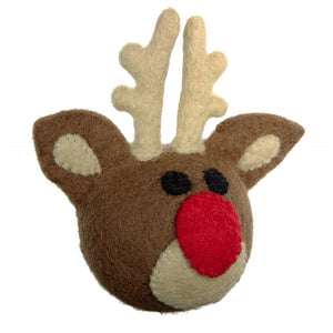 Wooly Wonkz Holiday Toy - Reindeer