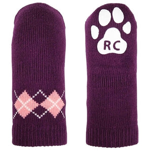 Grape Argyle Pawks for Dogs