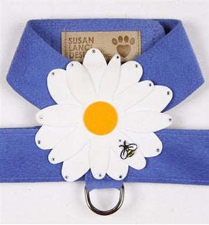 Susan Lanci Tinkie Large Daisy Collection Tinkie Ultrasuede Harnesses